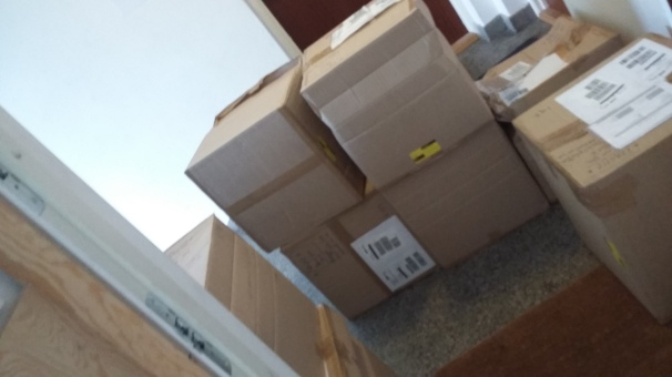 8 boxes 5th floor (smug grin)