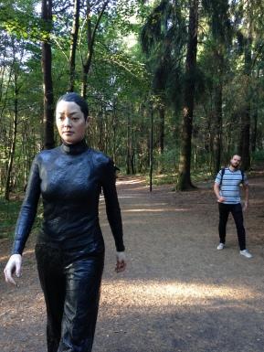 Walking Woman: Sean Henry, and Ulli